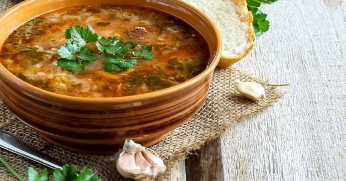 кольцах имеют суп харчо из баранины рецепт с фото такое страницы дружбы