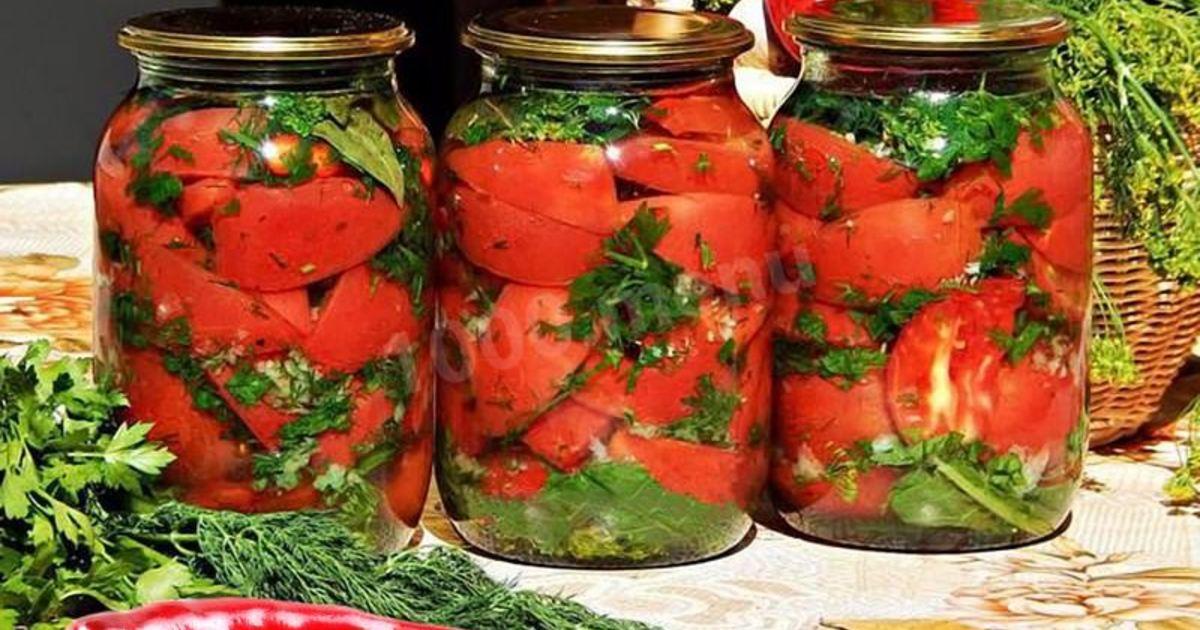 помидоры по польски на зиму рецепт с фото